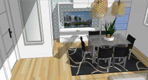 Proyectos, diseños de interiorismo en 3D