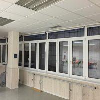 Ventanas de PVC y aluminio para empresas